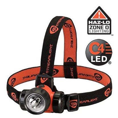 Imagem de Lanterna para cabeça Streamlight modelo 3AA HAZ-LO com certificação INMETRO