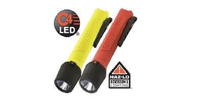 Imagem de Lanterna Streamlight modelo 3C Propolymer HAZ-LO LED com certificação INMETRO