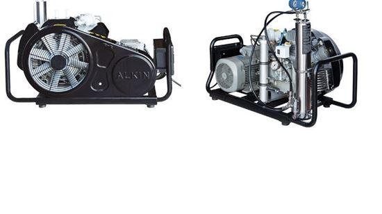 Picture of Compressor portátil de alta pressão para ar respirável Alkin W-32-Mariner