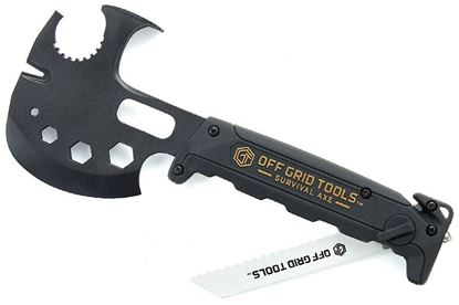Imagem de Machado Multiuso  Off Grid Tools, modelo Survival Axe